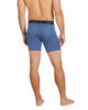Men's Premium Underwear Modal Cotton Boxer Briefs Blue Back