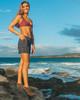 "Waikiki Black Camo 5"" Women's Boardshort Wide"