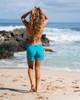 "Maui Blue 5"" womens boardshorts"