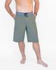"""Extra Long 24"""" Olive Hybrid Boardshorts / Walk Shorts"""