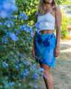 Monstera Women's Long Wrap Skirt