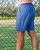 Men's Reef Blue Performance Workout Shorts for Fitness, Running, Training , gym shorts