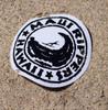 "Maui Rippers Logo Sticker 3"" Round"