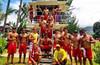 Hawaii lifeguards board shorts