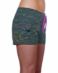 "Camo Wave 2.5"" Boardshort Side"