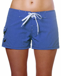 "Melange Blue 2.5"" Women's Boardshort"