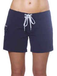 "Navy Women's 5"" Boardshort"