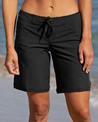 """Black 9"""" Women's Boardshort"""