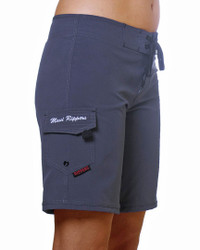 "Women's Ebony 9"" Boardshort Side"