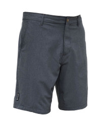Melange Gray Men's Hybrid Swim Surf Walk Shorts