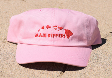 Classic Maui Rippers Dad Hat - Pink