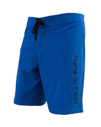 "Core Blue 21"" Men's Stretch Boardshorts Front"