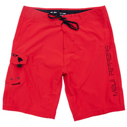 """Core Red 21"""" Men's Stretch Boardshort Front"""
