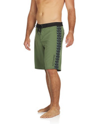 "Hawaiian Tribal Olive 21"" Stretch boardshort olive"