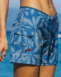 "Umbrella Leaf 5"" Boardshort"