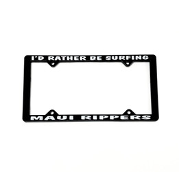 Maui Rippers License Plate Frame