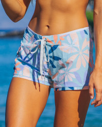"Women's Maui Jungle 2.5"" Four-Way Stretch Boardshort front"