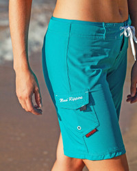 "Women's Maui Blue 9"" Boardshort"