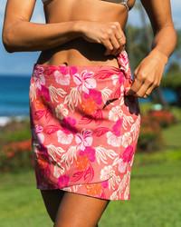 Short Wrap Skirt Sarong - Leilani
