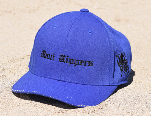 Embroidered Octo Hat - Navy