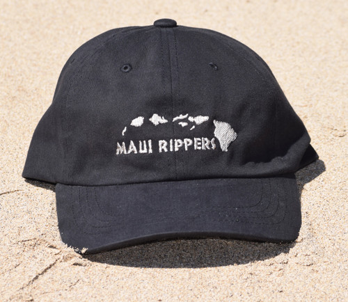 Classic Maui Rippers Dad Hat - Black