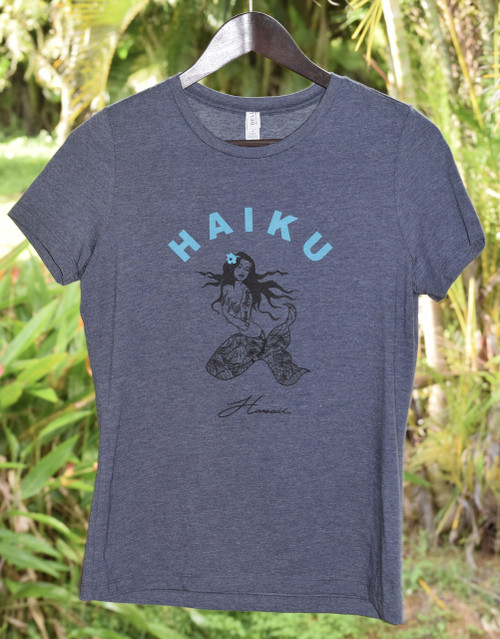 Haiku Siren Women's Tee - Navy