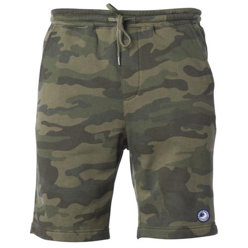Fleece Lounge Shorts - Camo
