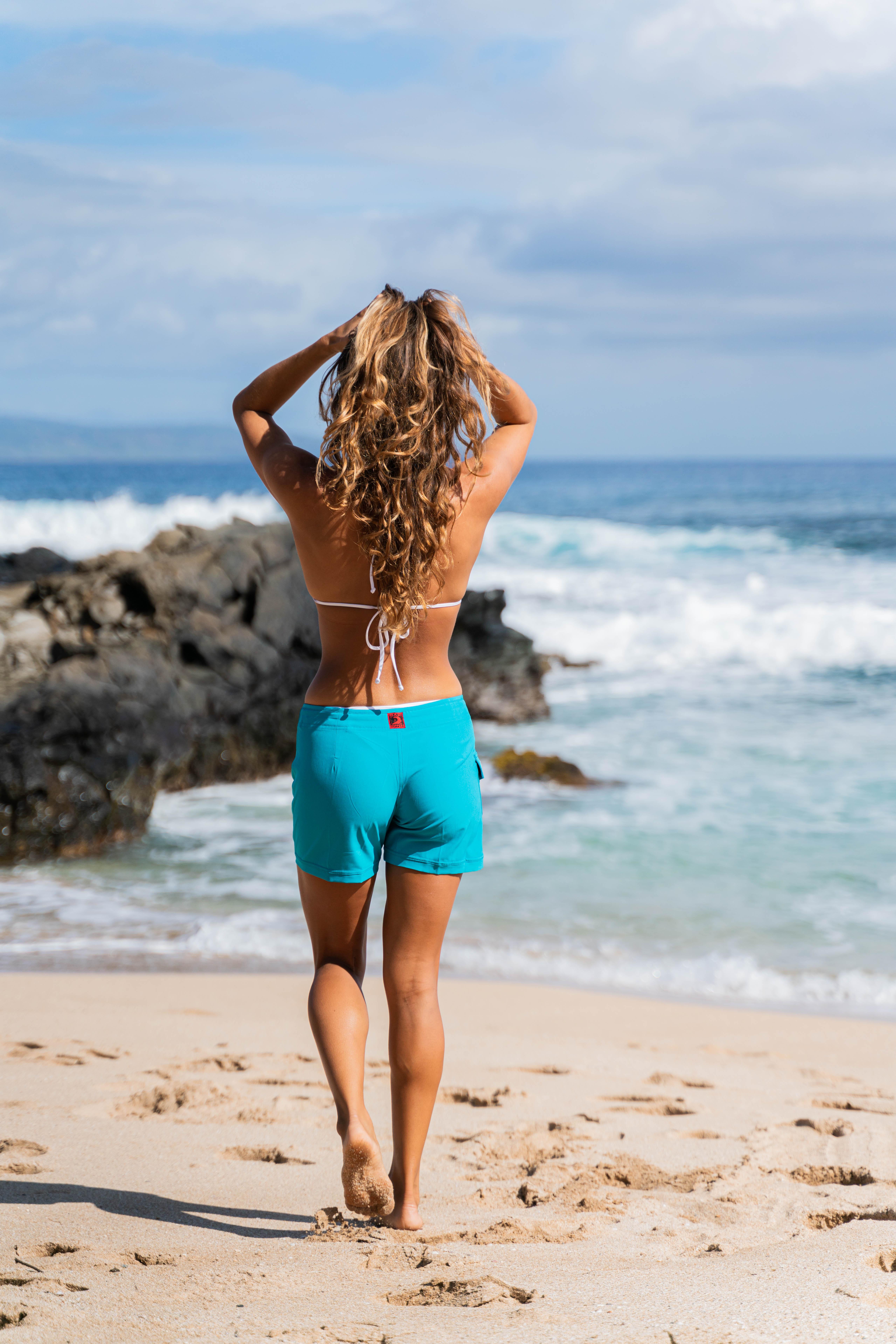 Maui Rippers maui mermaids women's boardshorts swim shorts coverup for beach pool lake