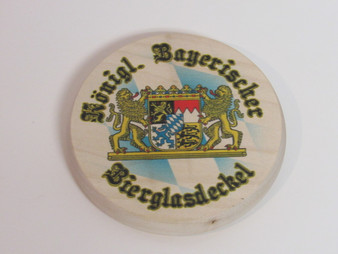 Wood Bavaria Mug Lid
