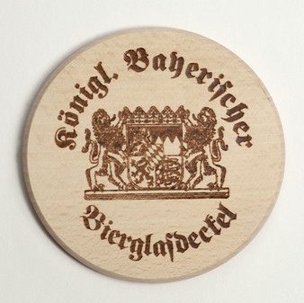 Wood Lid for beer mug