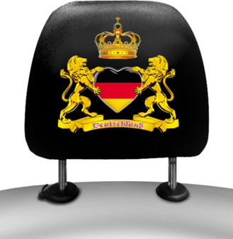 Itati German Car Seat Headrest Cover (Set of 2)