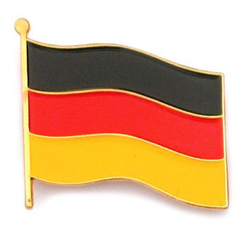 "Hat Pin ""German Flag"""