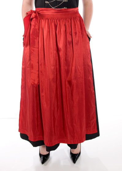 Dirndl Apron Red