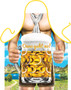 Itati Funny Bavarian German Cooking BBQ Apron -  Only One More Beer