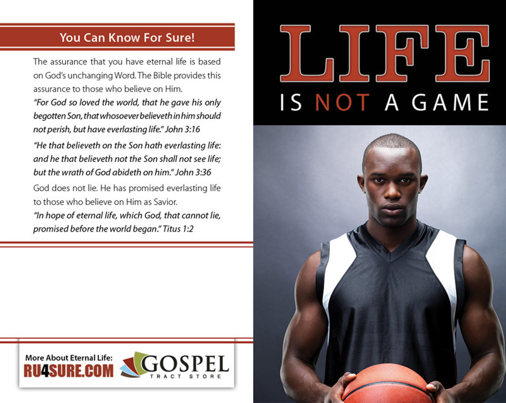 Life Is Not A Game (Basketball Player) PACK