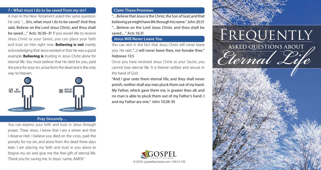 Frequently Asked Questions About Eternal Life - Outside View