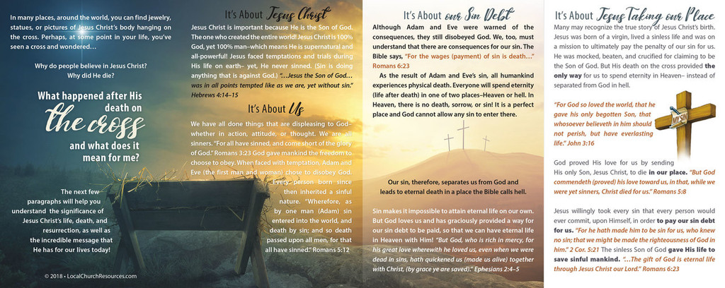 The Cross is Not the End-Empty Tomb
