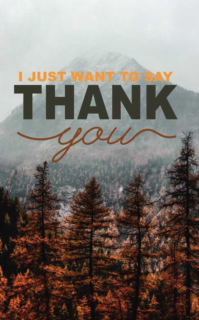 Thank You-Fall Mountain