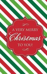 A Very Merry Christmas-Stripes
