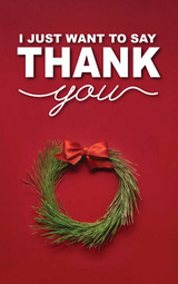 Thank You Christmas Wreath