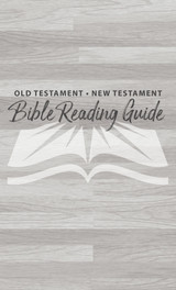 Old Testament & New Testament Reading Guide-Checklist