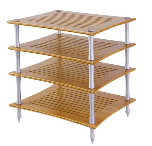 Quadraspire Sunoko-Vent T Bamboo Hi-Fi Rack