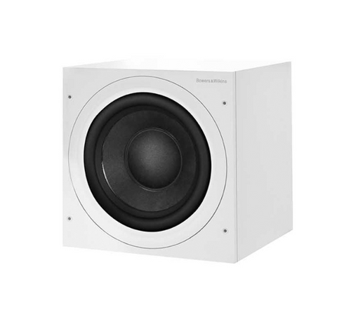 B&W ASW610XP Active Subwoofer - Matte White