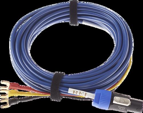 REL BassLine Blue Cable