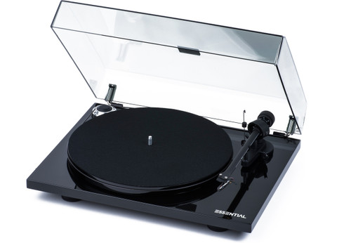 Project Essential III Turntable with Ortofon OM10 Cartridge - Black