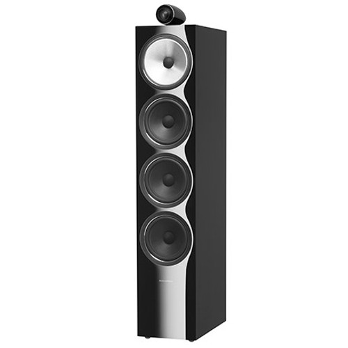 B&W 702 S2 Black Floorstanders (Pair)