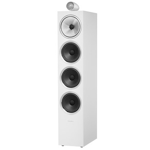 B&W 702 S2 White Floorstanders (Pair)