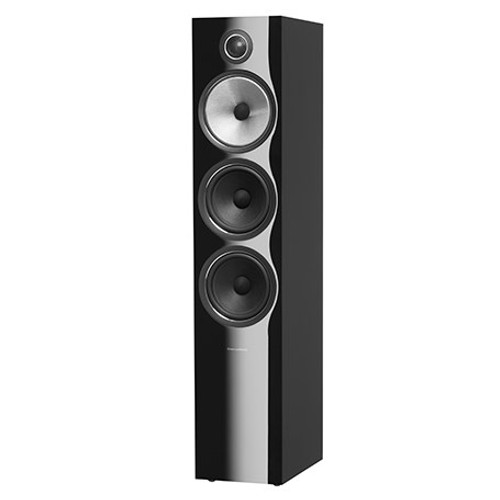 B&W 703 S2 Black Floorstanders (Pair)