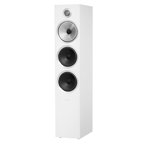 B&W 703 S2 White Floorstanders (Pair)