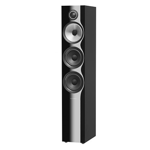 B&W 704 S2 Black Floorstanders (Pair)